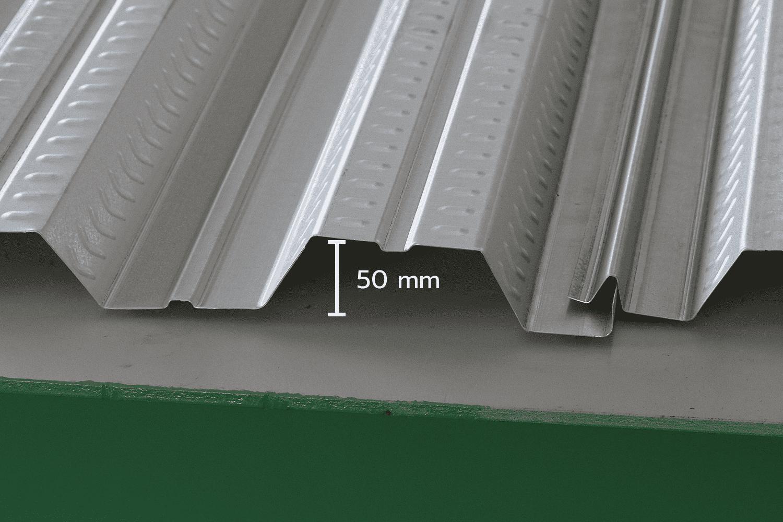 แผ่น Metal Deck 50W